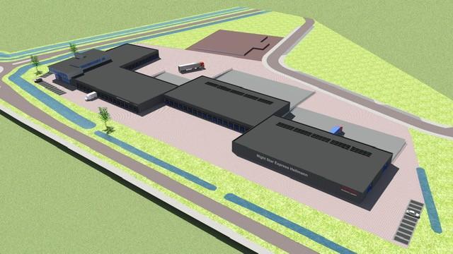 Hellmann World Wide Logistics B.V. - Utbreiding bedrijfshal aan de Logistiekstraat te 's-Heerenberg