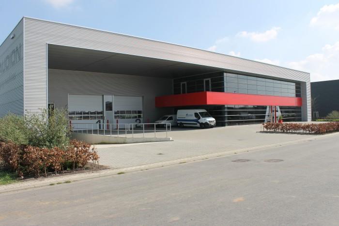 Audion Elektro GmbH - Kantoren met bedrijfshal te Kleve
